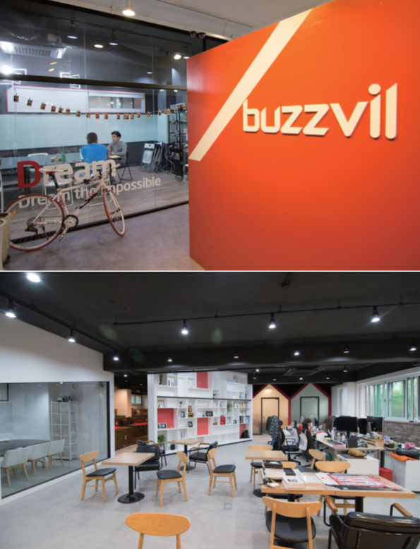 Scene of Buzzvil Office