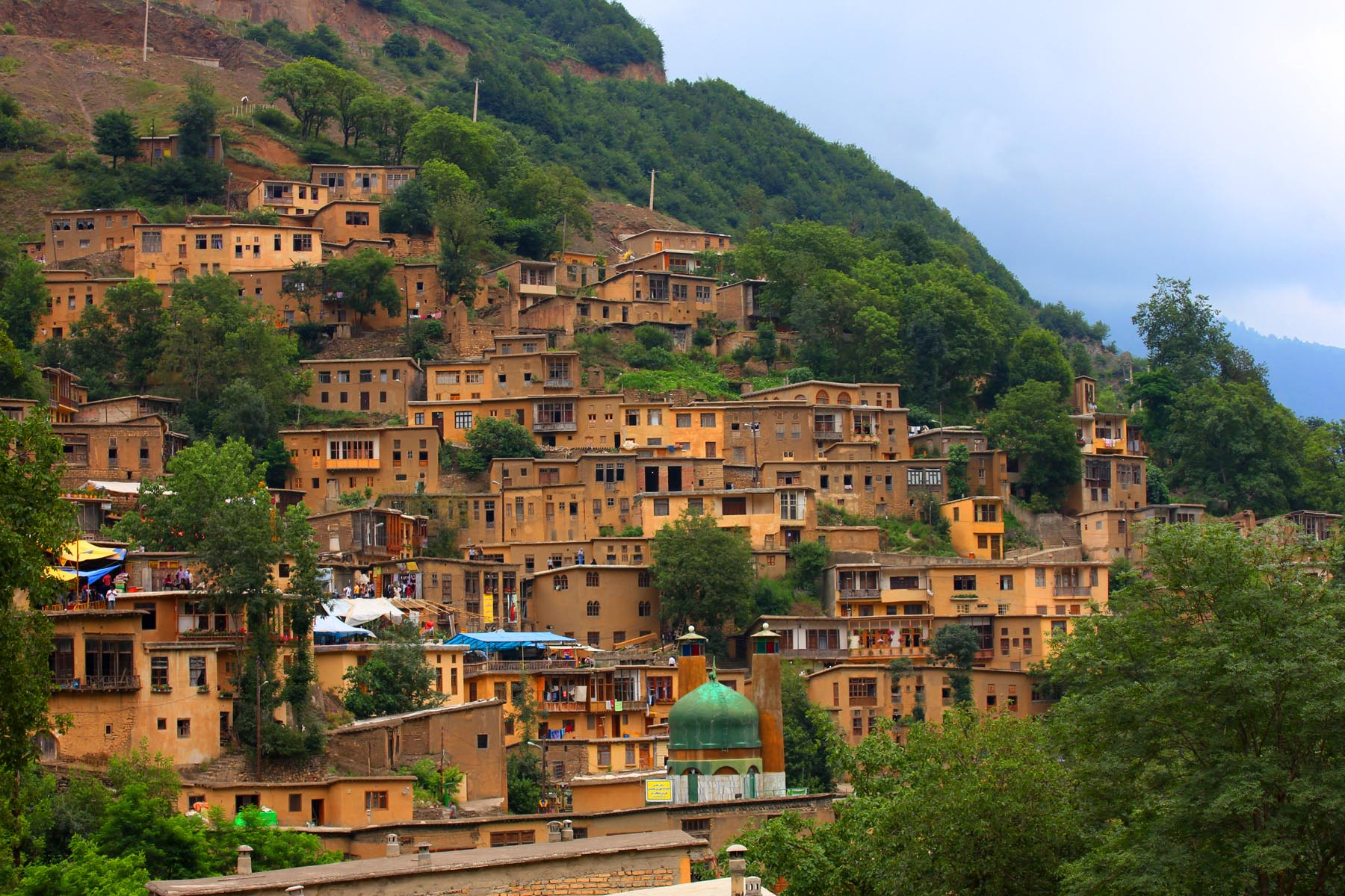 Masuleh Village in Gilan