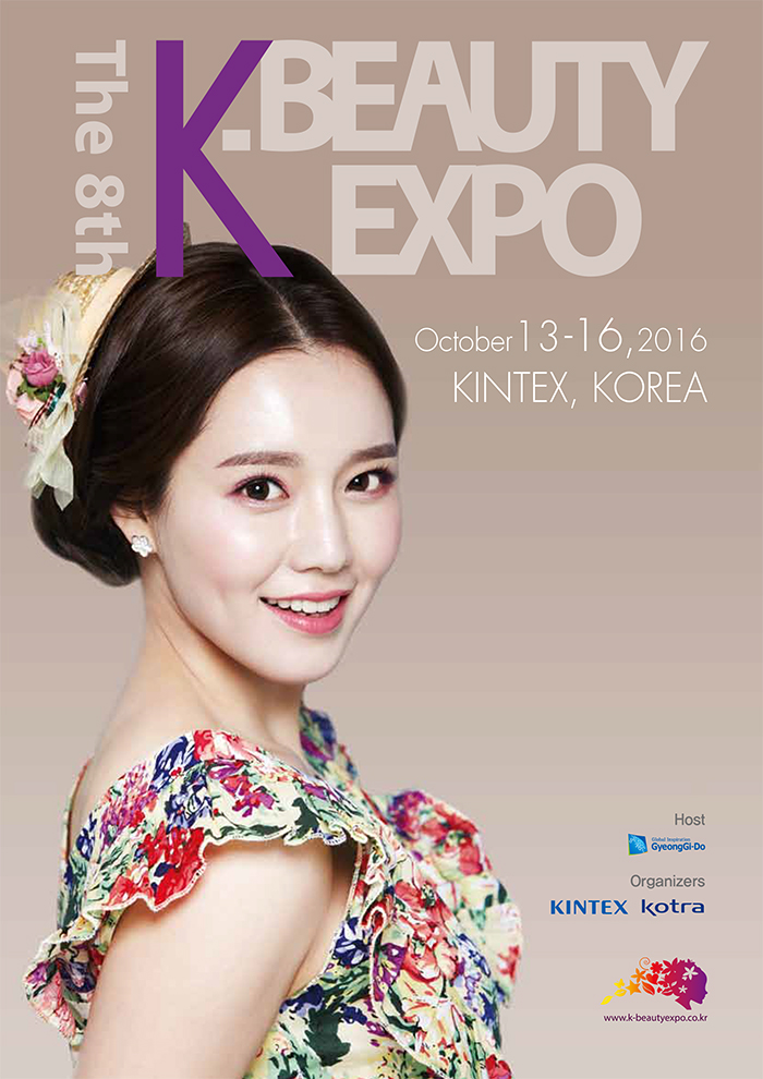 A poster of the K-Beauty Expo.