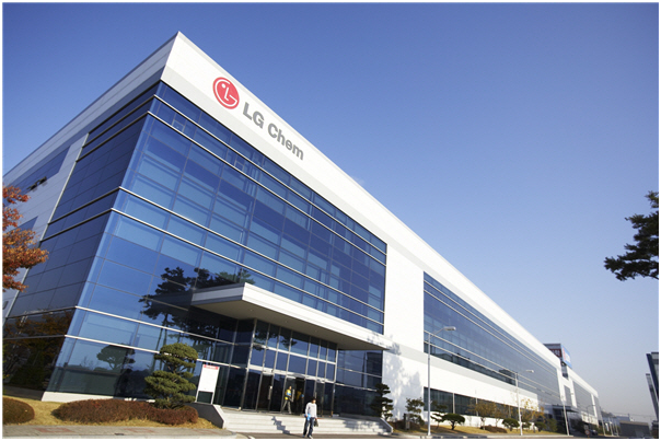 LG Chem has ranked 11th in the global top 50 chemical company list.