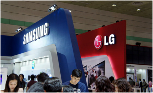 Both Samsung Electronics and LG Electronics are concentrating on automotive electronics to ensure their future growth based on the different strategies.
