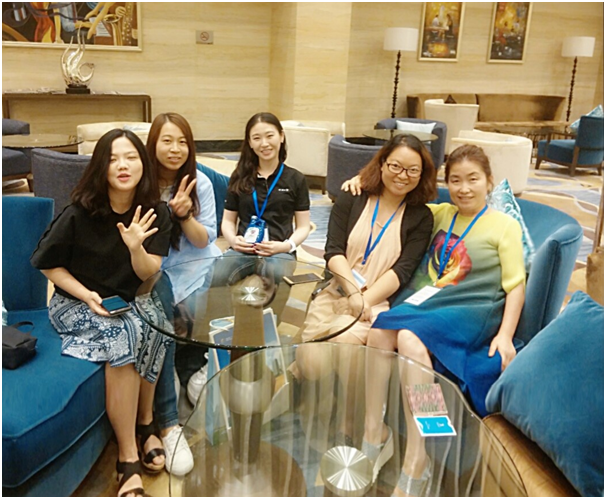 Together with staff from China Daily