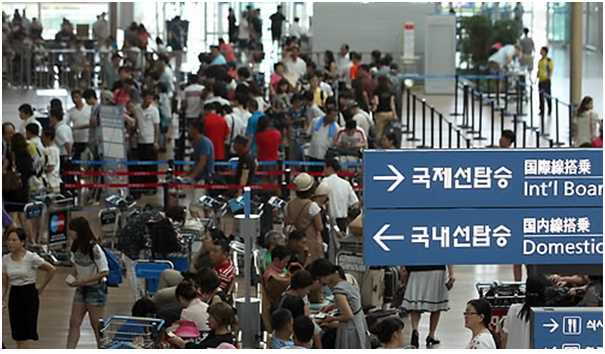 Koreans visited China most frequently as overseas travel destinations Over the past five years.