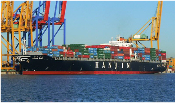 The Korean government forecasted that 90 percent of Hanjin's container ships should have completed offlading by the end of October.