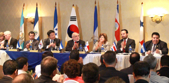 South Korea Central American Countries Finished Negotiations For