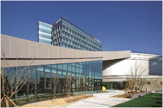 The new Headquarters building of the Korea Industrial Complex opened on Feb., 2014 in Daegu City.