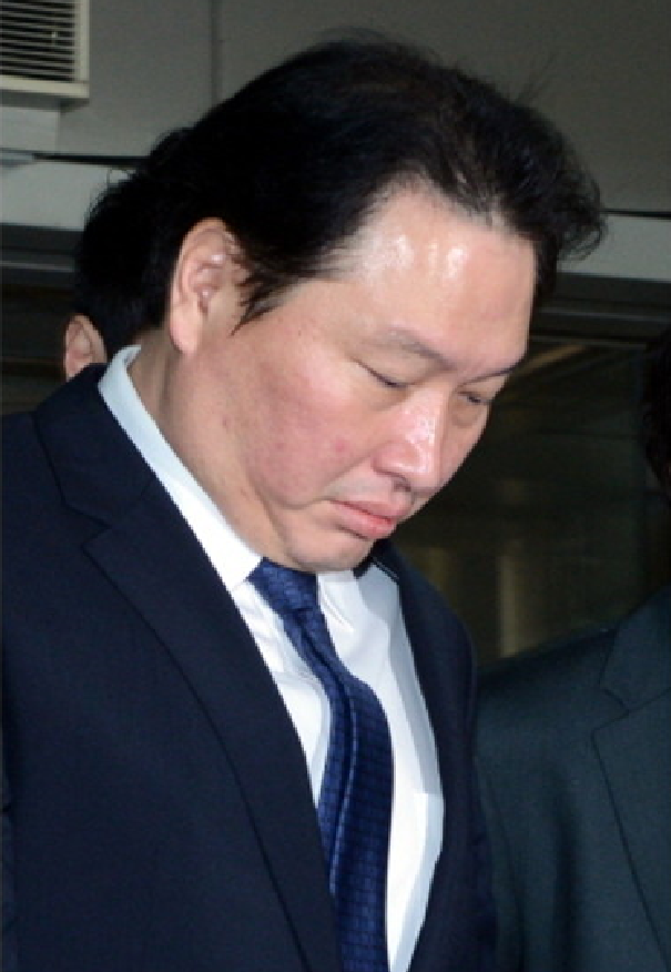 SK Group chairman Chey Tae-won.