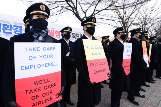 Korean Air will see a loss of 10 billion won (US$8.36 million) in the operating profit due to the pilot strike.