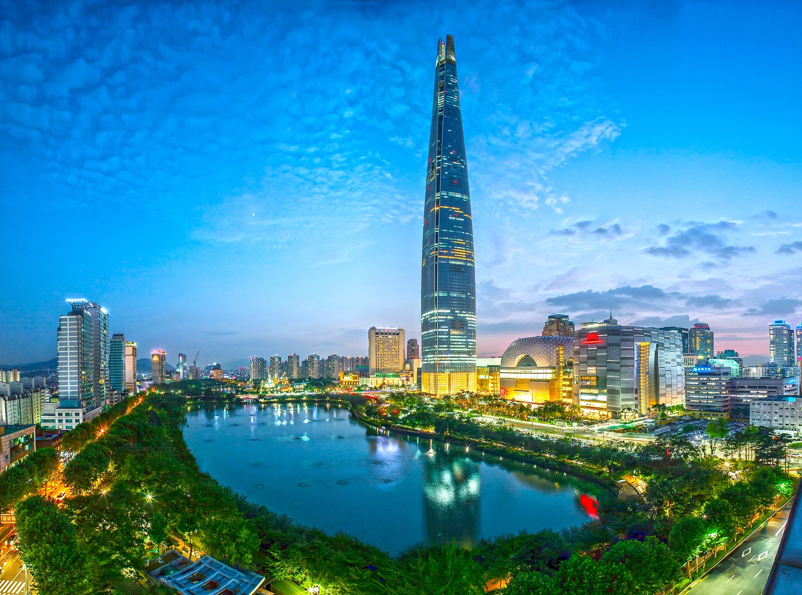 Image result for lotte tower