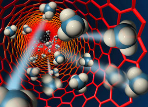 A Korean research team developed the new semiconductor using carbon nanotubes (CNTs).