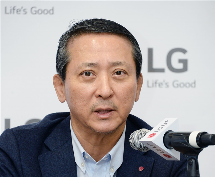 LG U+ Vice Chairman and CEO Kwon Young-soo is actively seeking out new businesses in the United States.