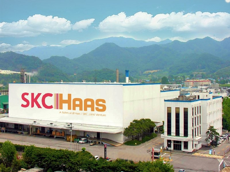 Dow Chemical Sells 51% Stake in SKC Haas - 비즈니스코리아