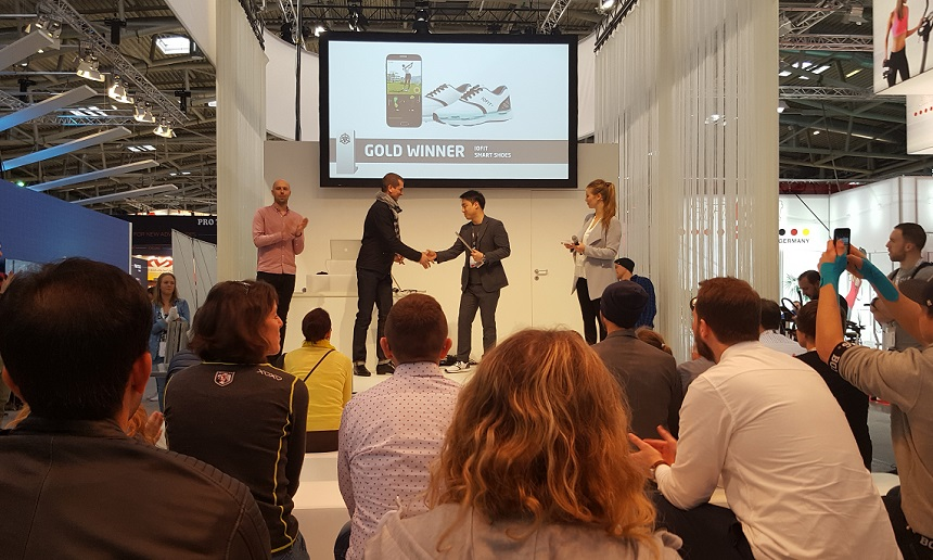 Salted Venture's Gold Winner Award at ISPO MUNICH 2017