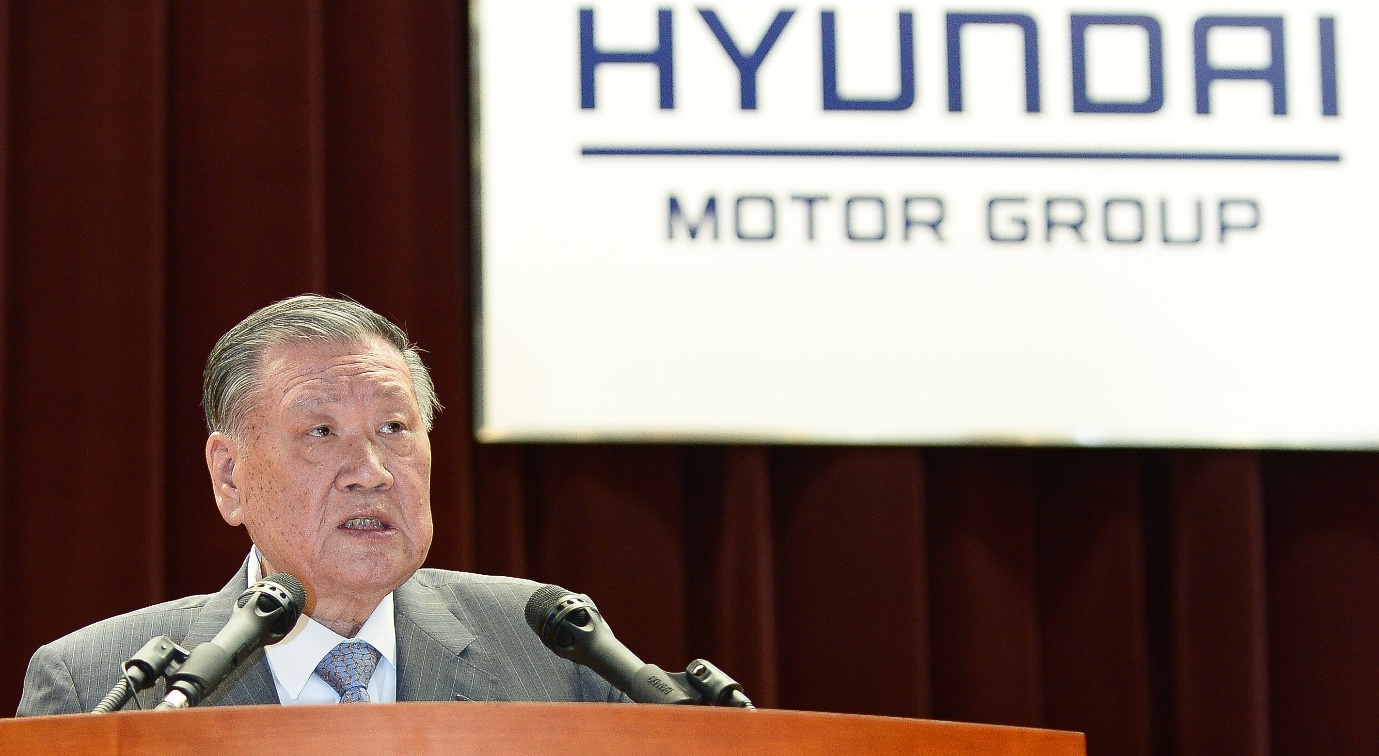 Hyundai Motor Group is expected to start reorganizing the ownership structure as economic democratization has been under discussion.