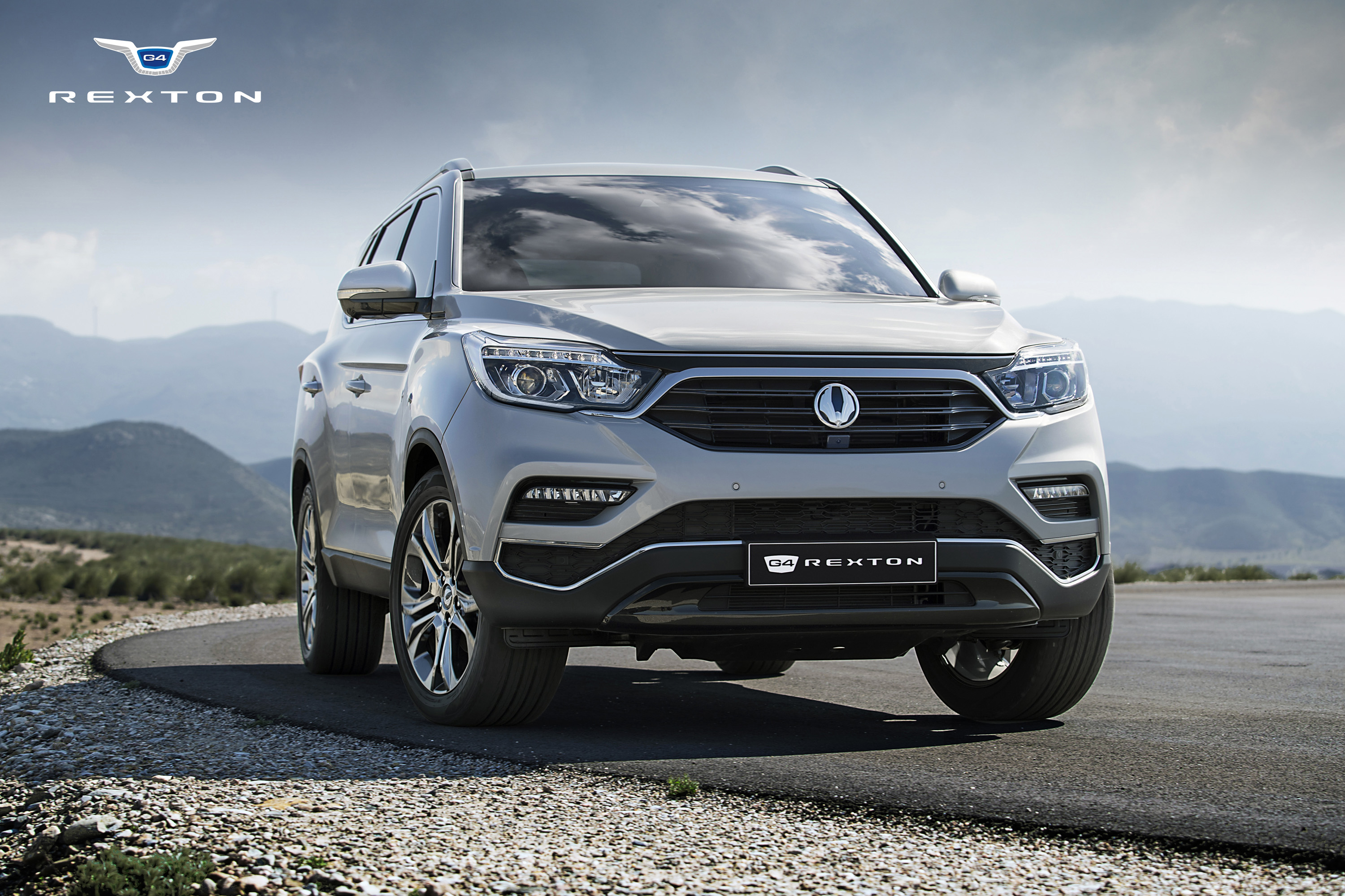 The G4 Rexton of Ssangyong Motor.