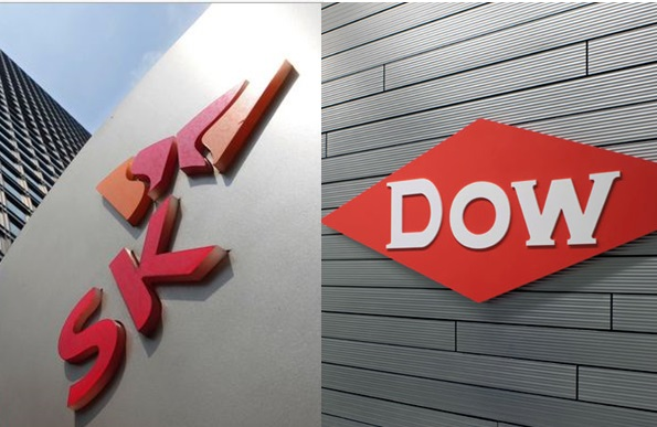 SK's last obstacle to its acquisition of Dow Chemical's ethylene acrylic acid (EAA) business unit has been eliminated due to EU's approval of the merger of Dow Chemical and Du Pont