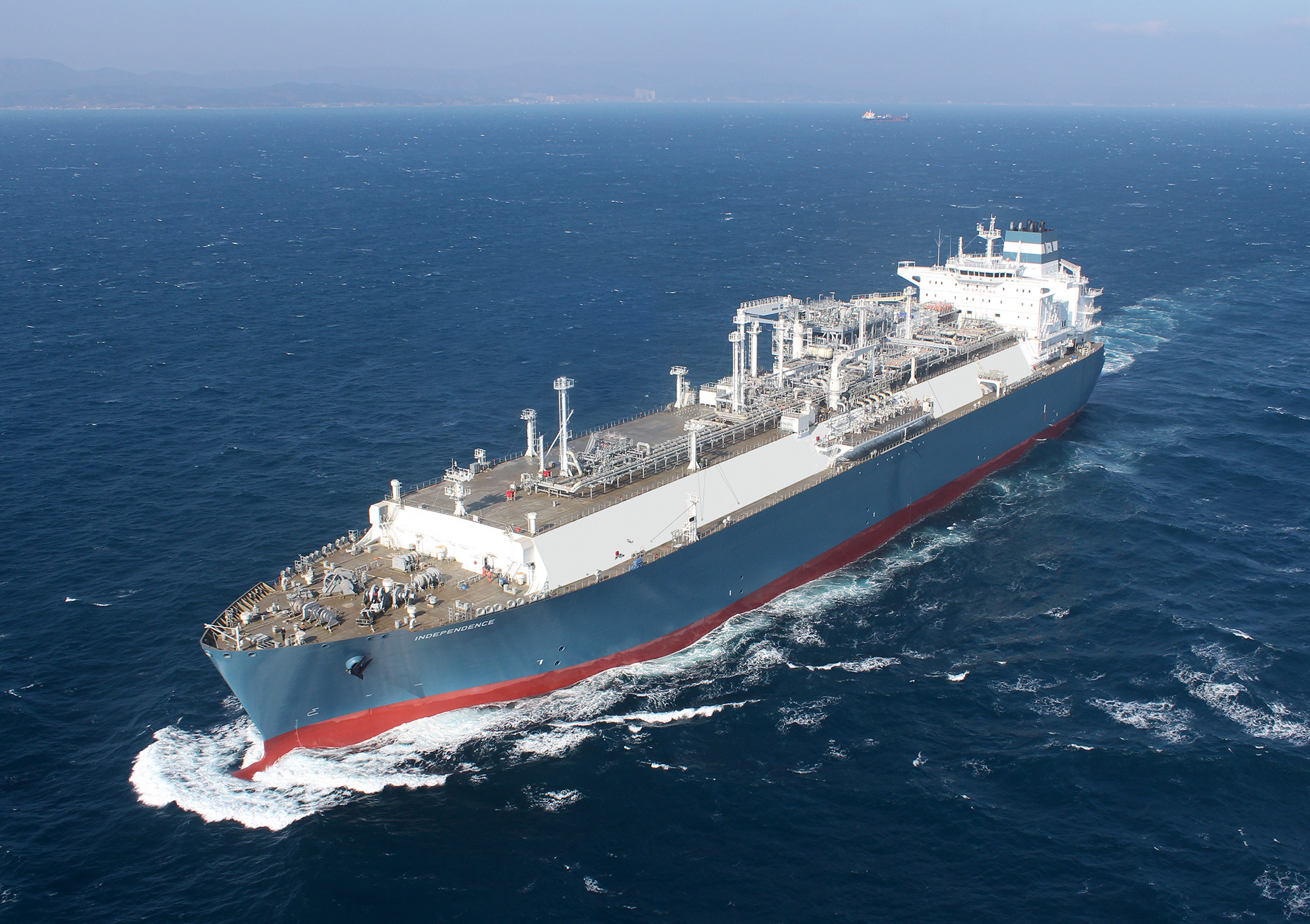Hyundai Heavy Industries has succeeded in independently developing an advanced liquefied natural gas (LNG) regasification system.