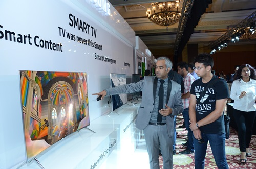 Samsung Electronics, LG Electronics and Japan-based Sony recently cut the prices of their 32-inch to 42-inch LED TVs by 15% in the Indian market.