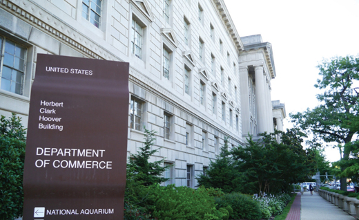 The U.S. government initiated 28 anti-dumping and countervailing duty investigations targeting South Korean companies in January to April this year.