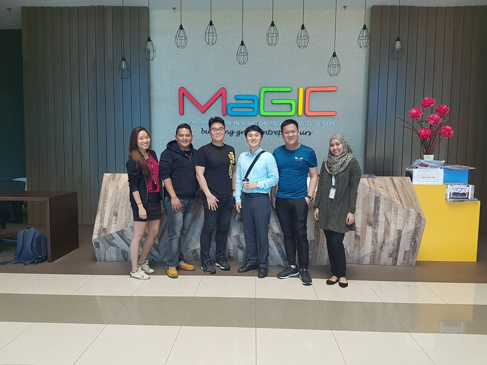 GCCEI had a meeting with Malaysian Global Innovation & Creativity Centre (MaGIC) on May 5 to discuss supports for startups from both countries.