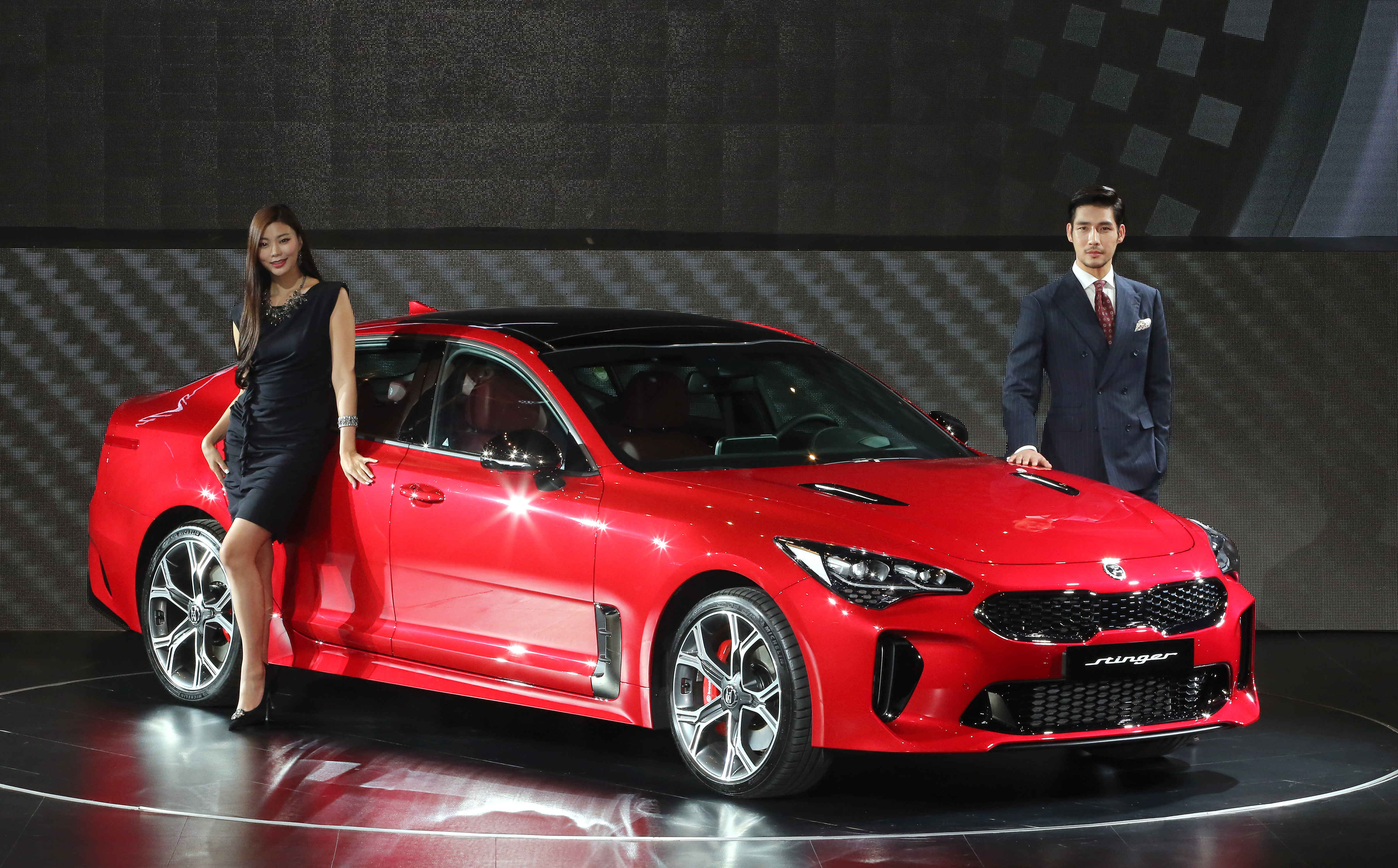 Kia's first premium performance sedan, the Stinger.
