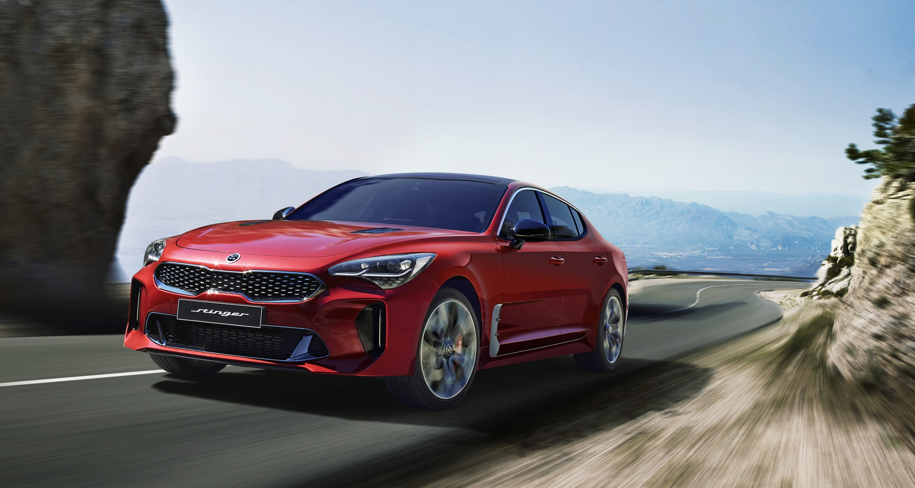 Kia Motors Launches Its first Performance Sedan 'Stinger'