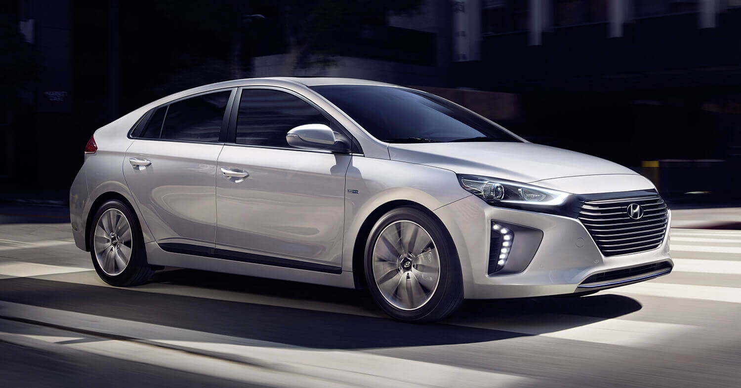 Ioniq Plug-In, a model of Hyundai Motor's plug-in hybrid electric vehicles (PHEVs).