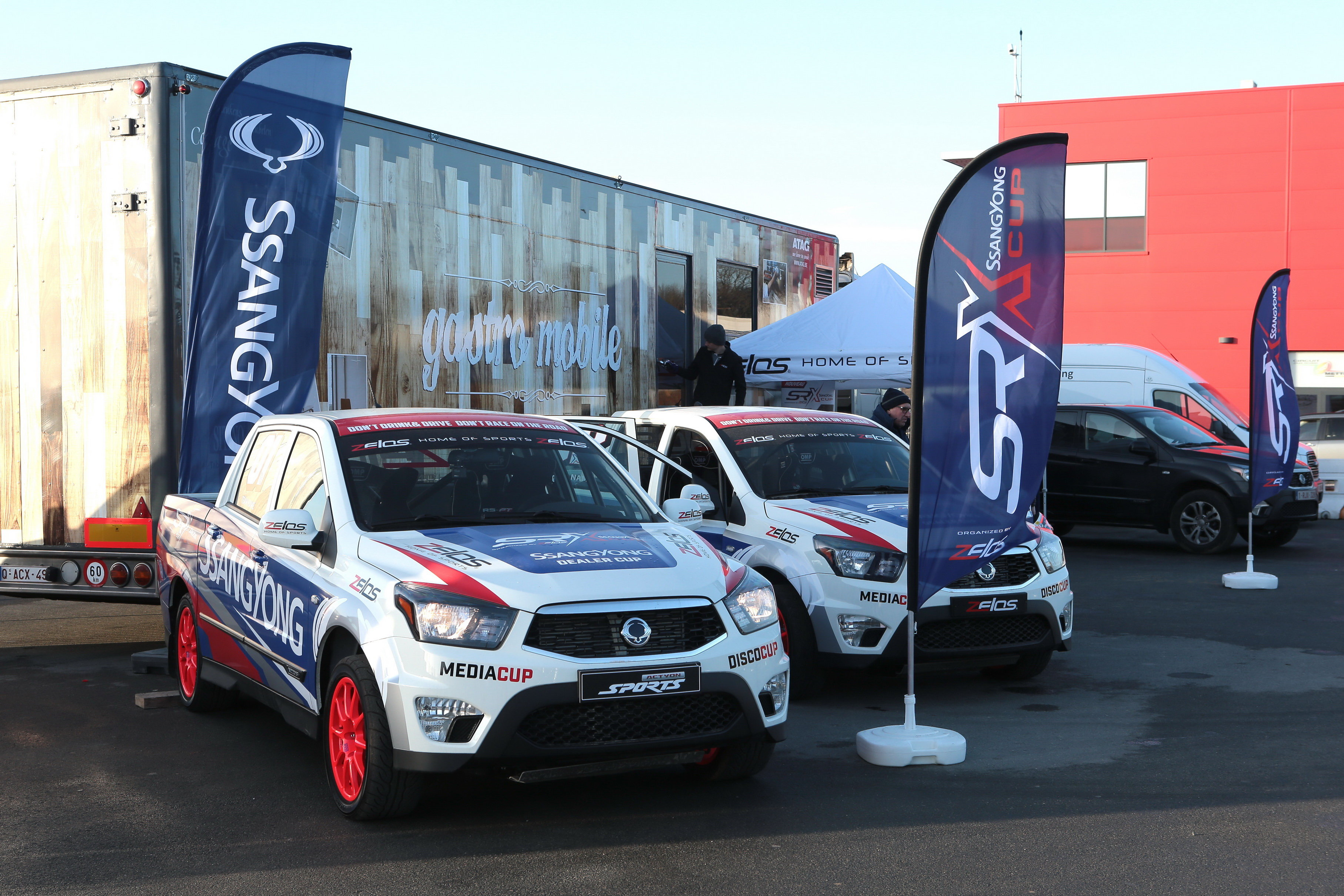 Ssangyong Motors Holds Ssangyong Rally Cross Cup SRX Cup in