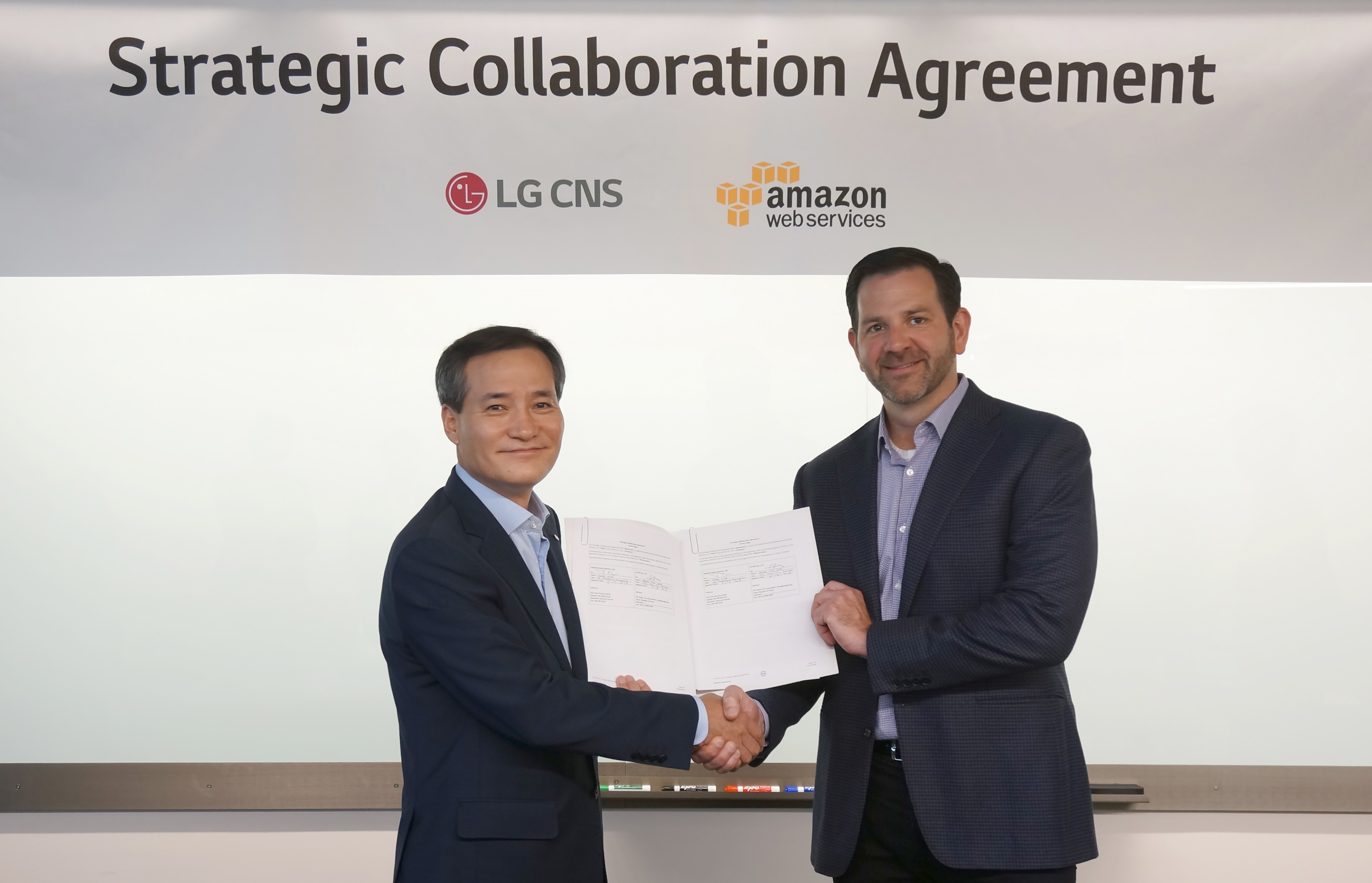 Lg Cns Joins Hands With Aws To Target Domestic Cloud Market
