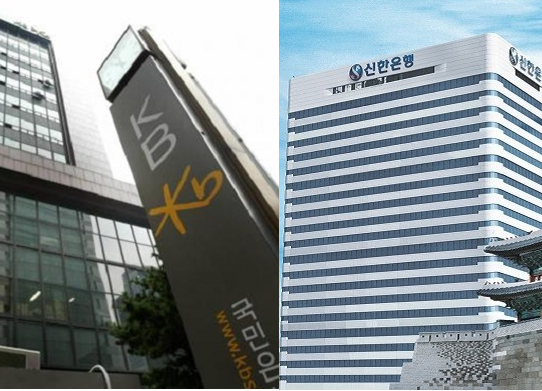 Shinhan Bank and KB Kookmin Bank to compete to acquire the same deal in overseas