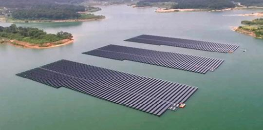 Hanwha Q CELLS Korea will carry forward the floating solar power generation business with Korea Hydro & Nuclear Power.