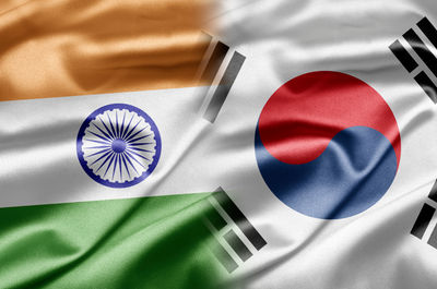 The Korean government begins working-level consultation to give US$10 billion in financial package support for infrastructure development in India.