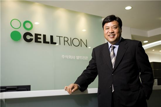 Celltrion Group Chairman Seo Jung-jin.