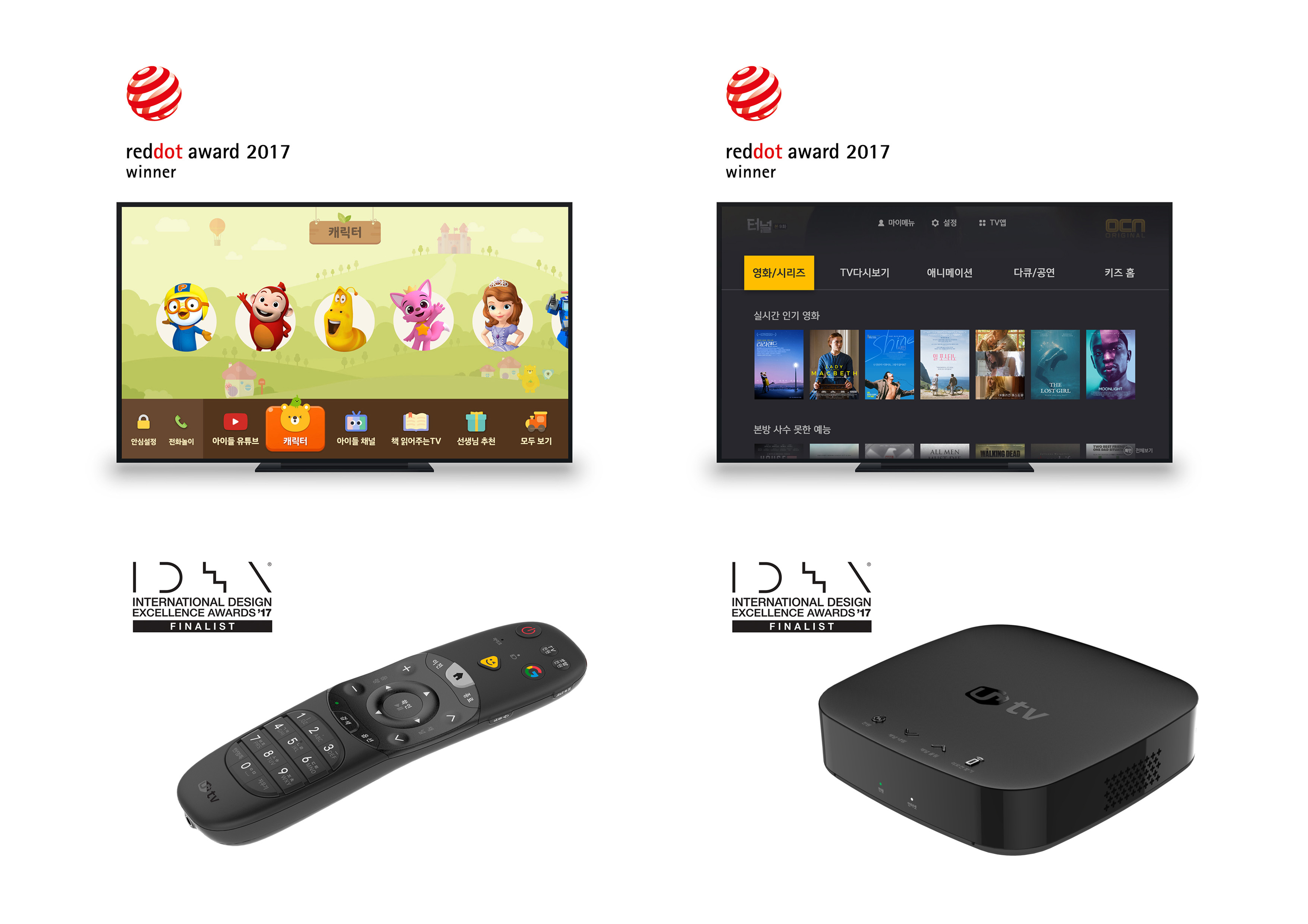 U Tv Has Been Recognized As Its World Class Design