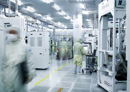Korea's shipments of semiconductor manufacturing equipment totaled US$4.79 billion, coming in first for the second consecutive quarter.