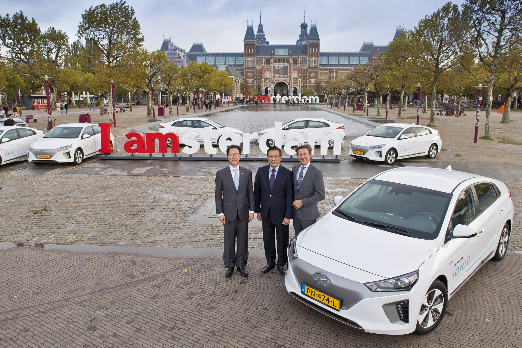 Hyundai Motor Launched EV Sharing Service in Amsterdam - 비즈니스