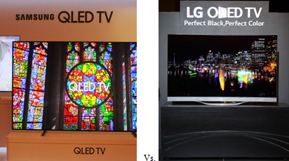 The war of nerves between the OLED camp led by LG Electronics and the QLED camp led by Samsung Electronics in the global TV market is more intense than you can imagine.