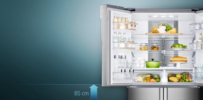 "Consumer Reports recommended the ""Samsung Chef Collection RF34H9960S4"" model, calling it the best product among large refrigerators."