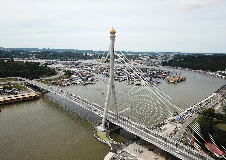 Daelim Industrial Completes Sungai Brunei Grand Bridge - 비즈니스