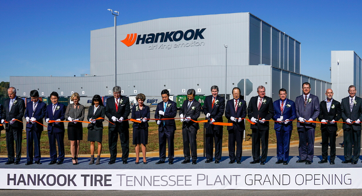Manufacturing plant of Hankook Tire located in Clarksville, Tennessee