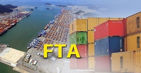South Korea's export amount based on FTAs for the first nine months of this year is equivalent to 72.6% of South Korea's total export.