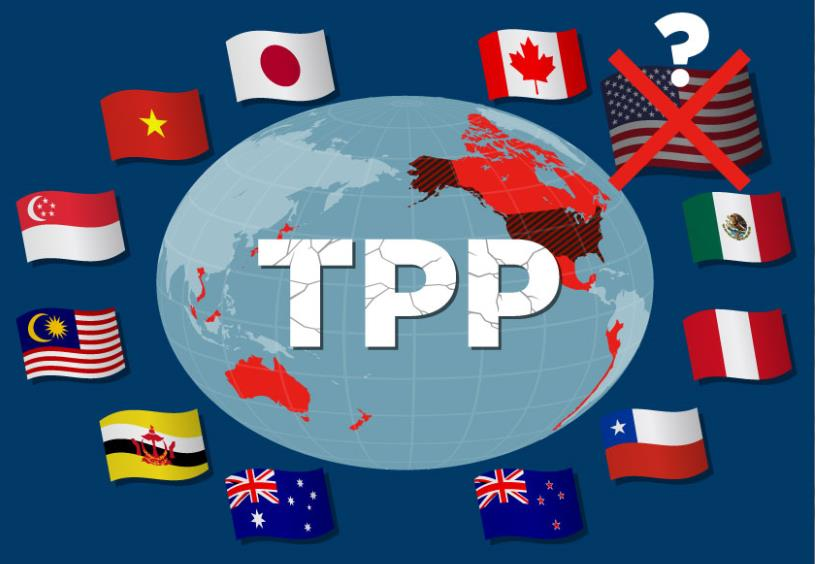 The conclusion of TPP may become a bad factor to Korean companies that compete fiercely with Japanese companies in Latin America and Southeast Asia, including Mexico and Vietnam.