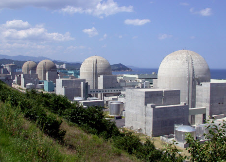 A total of 18 nuclear power plants are in operation and five are under construction in the southeastern region of the Korean peninsula.