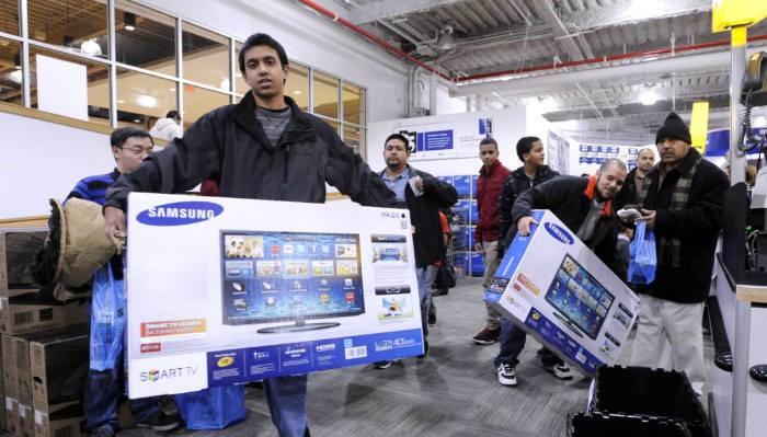 Samsung Electronics is seeking to preoccupy the premium television market  for this Black Friday season with d5b45aa63794