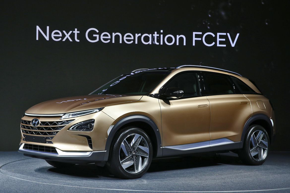 Hyundai Motor's next-generation FE fuel-cell electric vehicle.
