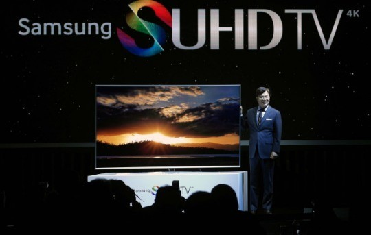 Samsung Electronics set up sales target for next year, which is lower than this year's sales figures.