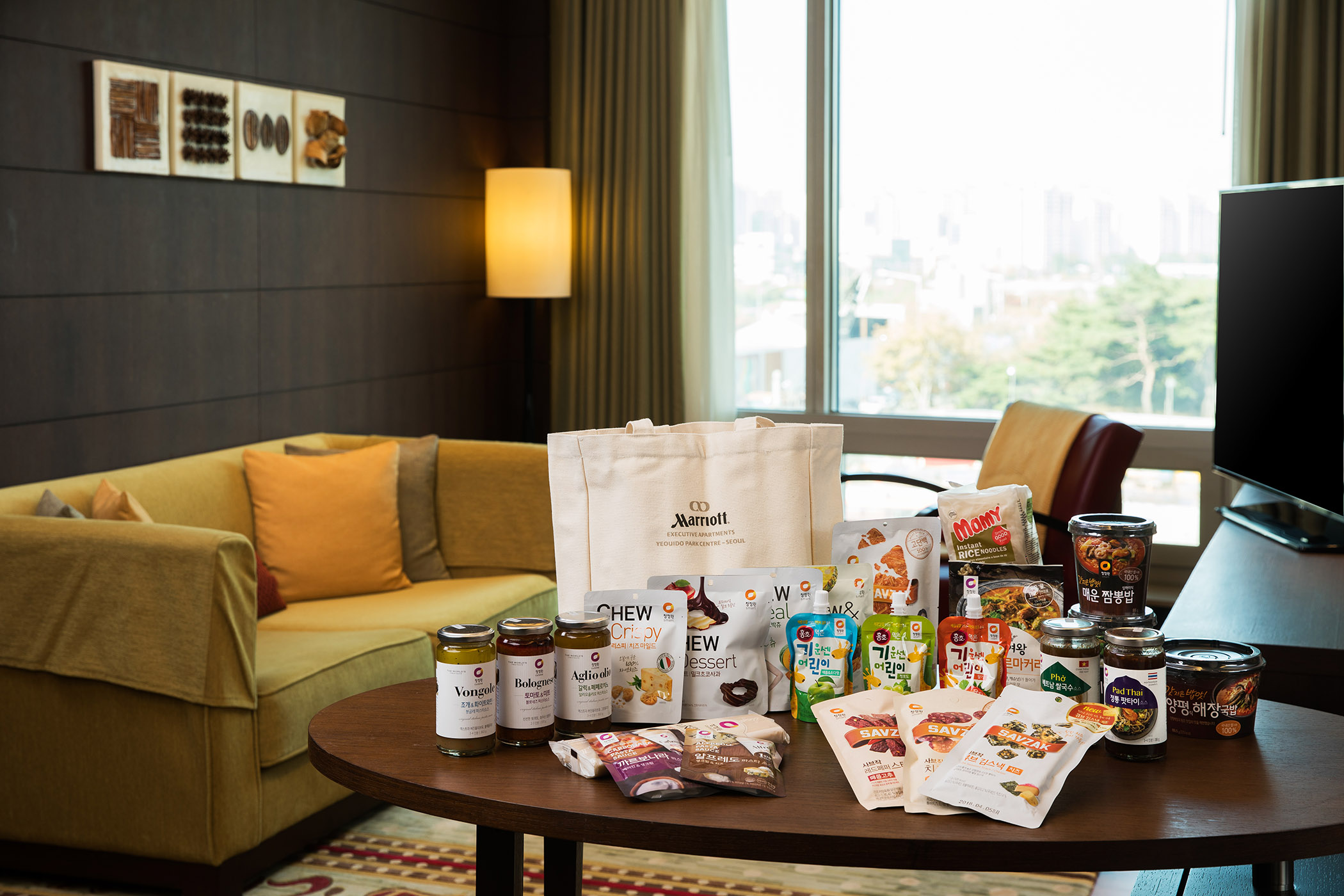 Yeouido Marriott Hotel's World Food Trip Package. (photo courtesy: Yeouido Marriott Hotel)