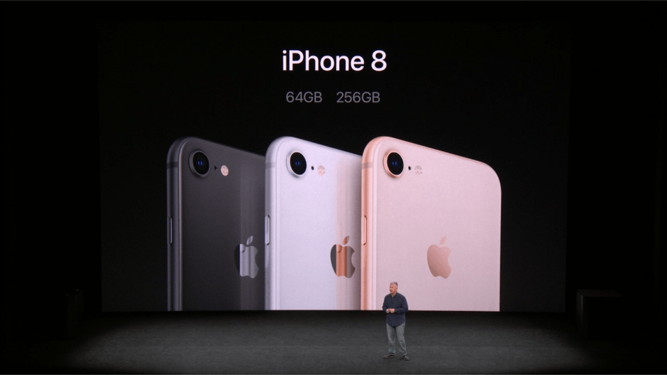 The iPhone 8 and the IPhone 8 Plus placed first and second in the world's smartphone bestseller rankings with 4.6% and 4.0% market shares, respectively in October.