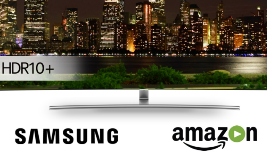 Samsung Electronics will introduce HDR10 Plus video content with Amazon.