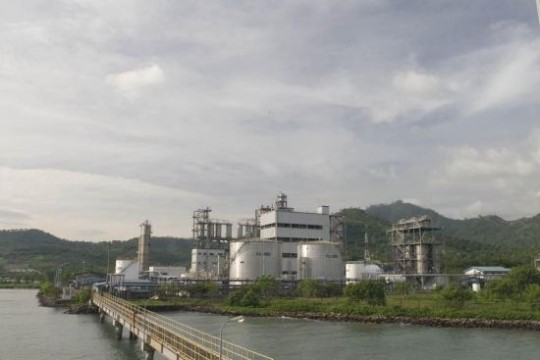 An aerial view of PT. Arbe Styrindo plant in Indonesia.